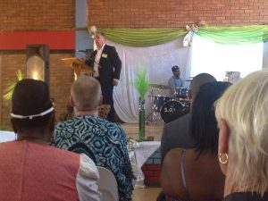 Speaking at Bishop Simeon Trust conference in South Africa