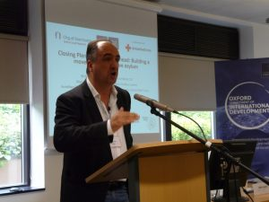 Speaking at Oxford Refugee Conference